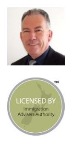 Grant Stephen: Licensed Immigration Advisor: 201801038